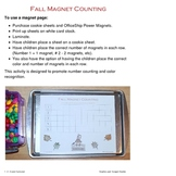 Fall Magnet Counting Sheets
