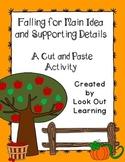 Fall Main Idea Cut and Paste