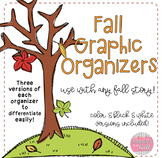 Fall Graphic Organizers {to use with any story}!