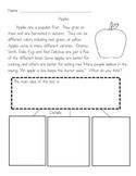 Fall Main Idea and Details!