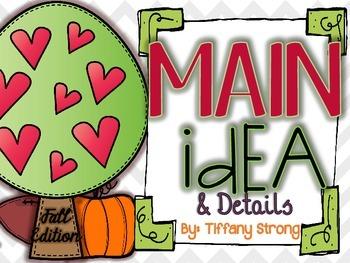 Fall Main Idea and Details