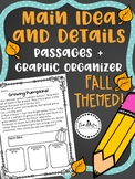 Fall Main Idea and Details Passages