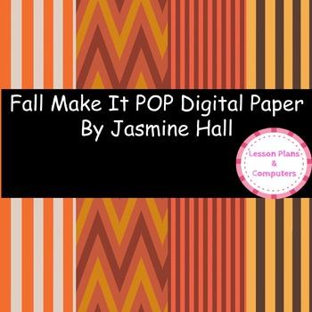 Fall Make It POP Digital Paper