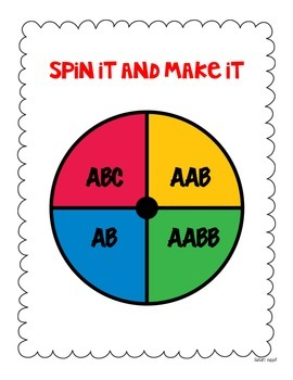 Fall Make It and Spin It Patterning Bundle