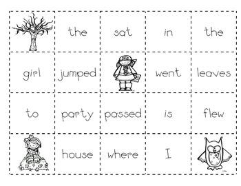 Fall Making Sentences TWO!