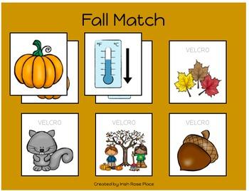 Fall Match Sheets