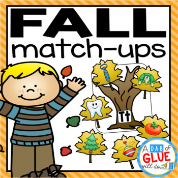 Fall Leaves Match-Ups {Growing} Bundle