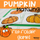 Fall Matching Activities Bundle for Toddlers, Preschool, and Pre-K