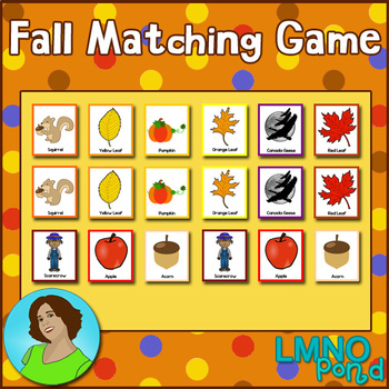 Fall Matching Game
