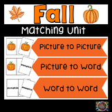 Fall Matching Emergent Readers #turkeydeals