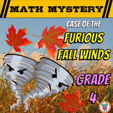 4th Grade Fall Activity - Fall Math Mystery Review