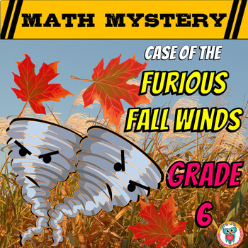 Fall Math Activity: Math Mystery -- {Ratios, Fractions, De