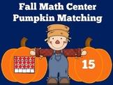 Fall Math Center First Grade