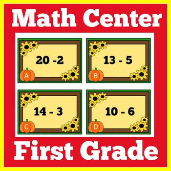 Thanksgiving Math Center | Thanksgiving Math Activity
