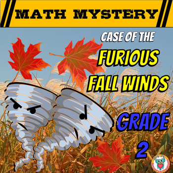 2nd Grade Fall Activity - Fall Math Mystery Review