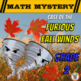 2nd Grade Fall Activity - Fall Math Mystery Worksheets Review