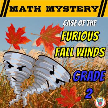 Fall Math Activity: Math Mystery (Fun Mixed Math Review)