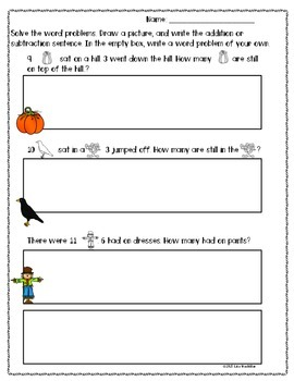 Free - Freebie: Fall Math