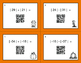 Fall Math: Absolute Value - Addition & Subtraction QR Code Task Cards