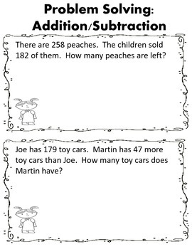 Fall Math Activities Set 2