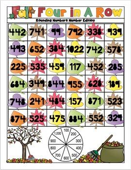 Fall Math Activities - 3rd Grade