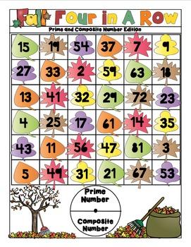 Fall Math Activities - 4th Grade