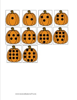 Fall Math Activities for Preschoolers
