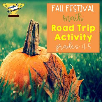 Fall Math Word Problems Activity