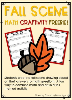 Fall Math Activity