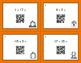 Fall Math: Adding Integers QR Code Task Cards