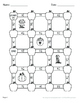 Fall Math: Adding Mixed Fractions Maze