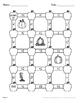 Fall Math: Adding Unlike Fractions Maze