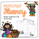 Fall Math Addition Fact Fluency to 20