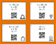 Fall Math: Algebra QR Code Task Cards