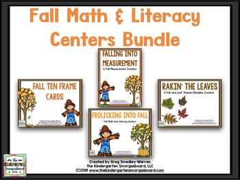Fall Math And Literacy BUNDLE!