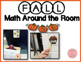 Fall Math Around the Room! 10 Sets Included!