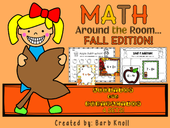 Fall Math Around the Room