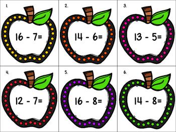Fall Math Around the Room