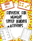 Fall Math - Build Number Sense with Quick Images, Tens Facts, & Doubles Facts