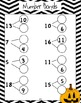 Fall Math - Build Number Sense with Quick Images, Tens Fac