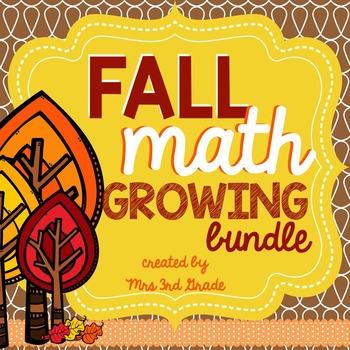 Fall Math Growing Bundle