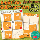 Addition and Subtraction Center