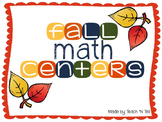 Fall Counting and Comparing Numbers Center