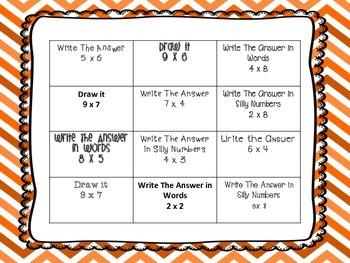 Fall Math Center Packet For Bigger Kids
