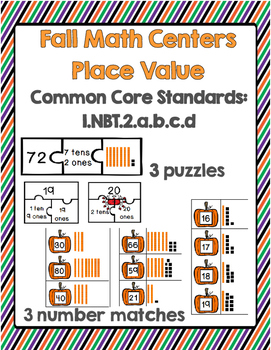 Fall Math Center: Place Value