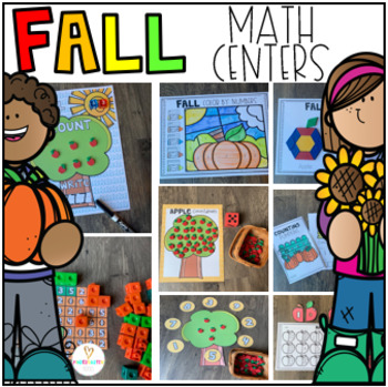 Fall Math Centers {CCSS}