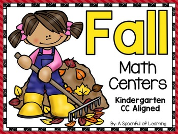 Fall Math Centers! Aligned to the CC