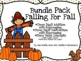 Fall Math Centers Bundle Pack- Addition/Subtraction w/ Reg