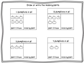 Fall Math Centers For the Primary Classroom!