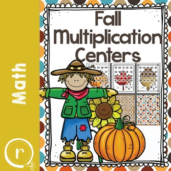 Fall Math Activities Centers Games